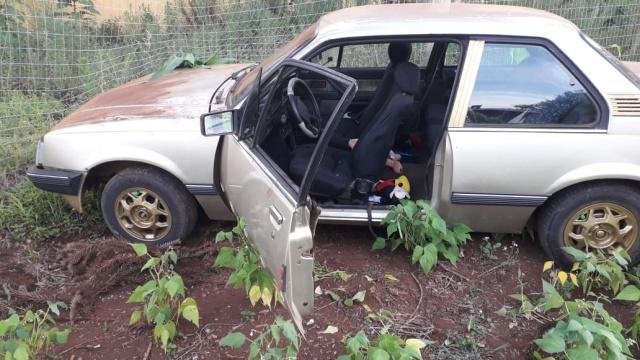 Criança é abandonada após acidente em Campo Erê
