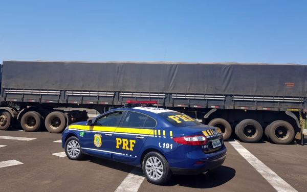 Motorista é preso ao apresentar CRLV falsificado em abordagem na BR-163