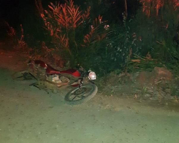 Motociclista morre em queda no interior de Seara