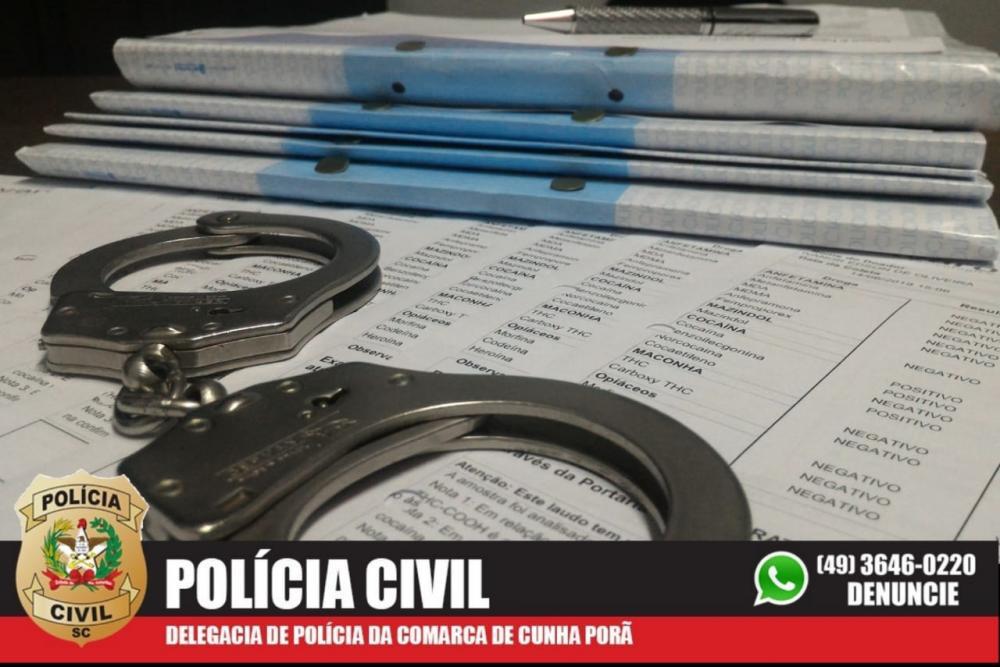Polícia Civil indicia 14 pessoas por esquema de fraude em exames toxicológicos em Cunha Porã