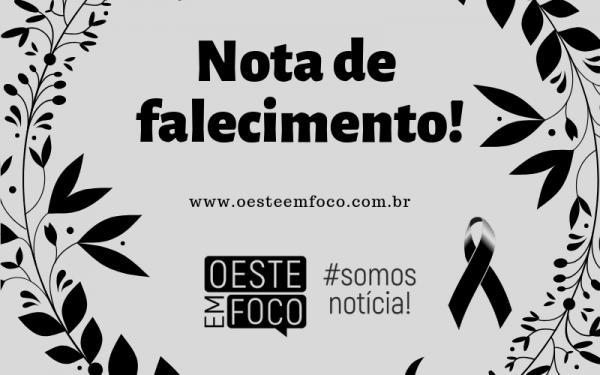 Nota de falecimento | Família Abreu | 14/09/2018