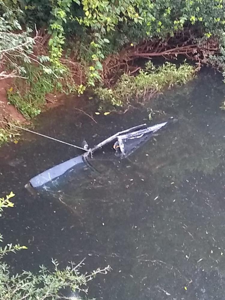Queda de ponte deixa dois mortos no interior de Palma Sola