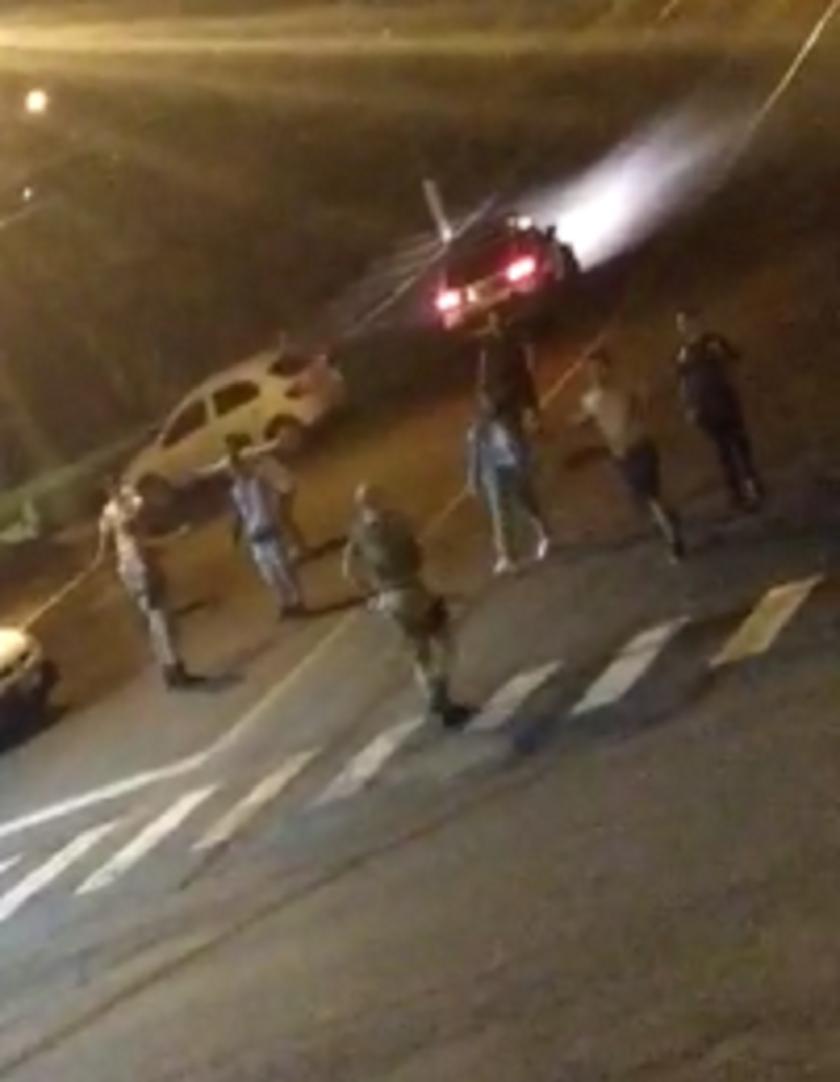 Policiais são agredidos no Centro de Seara