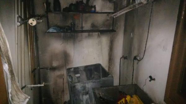 Princípio de incêndio em residência mobiliza bombeiros no Bairro Bela Vista