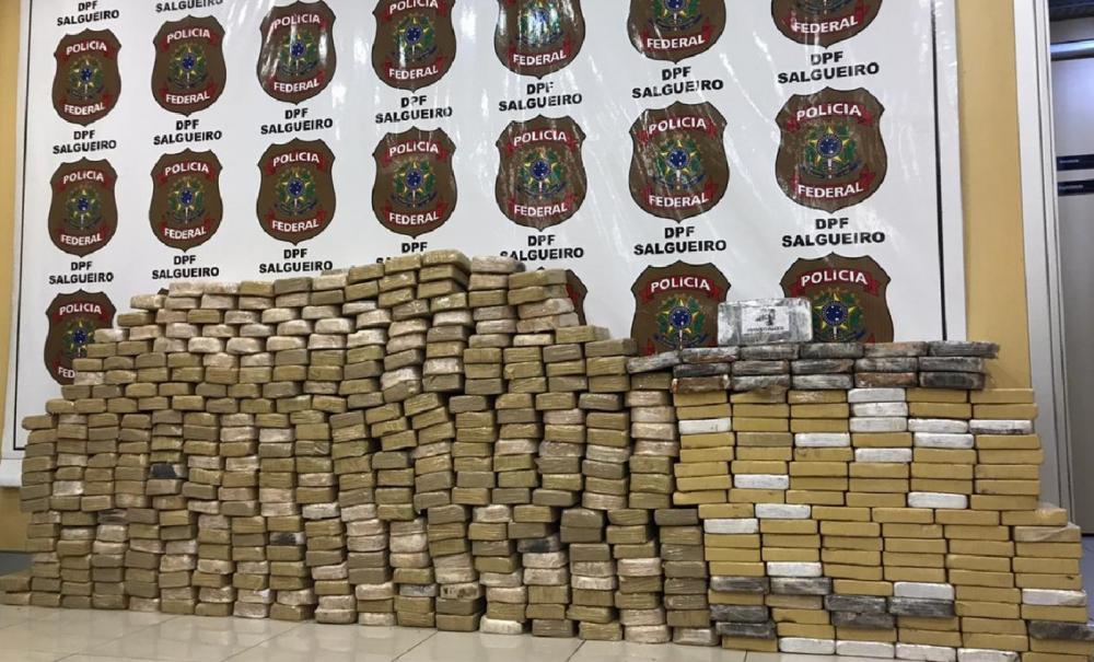 Motorista da região é preso transportando meia tonelada de cocaína em Pernambuco