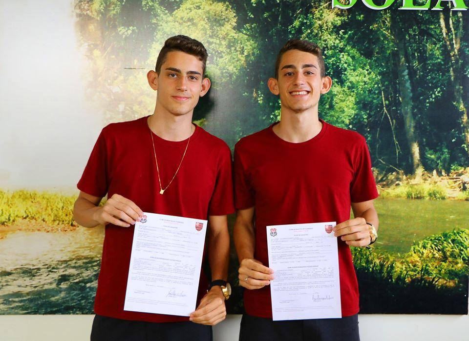 Atletas de Palma Sola participam de testes no Flamengo