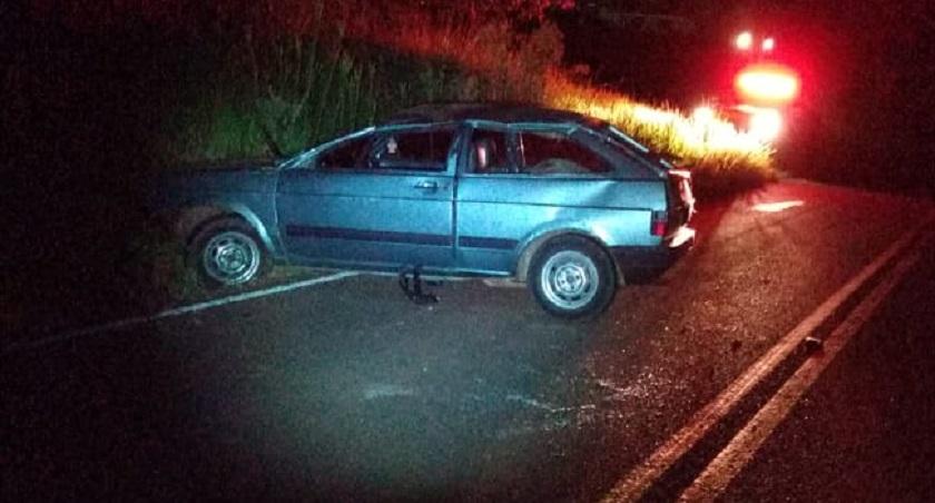 Motorista é preso por embriaguez após acidente na SC-492 em Bandeirante