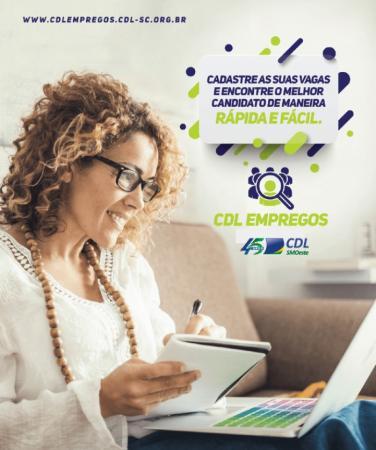 CDL Empregos é o novo serviço gratuito oferecido para associados em São Miguel do Oeste