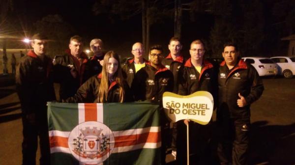 Nove equipes de São Miguel do Oeste participam do 58º JASC