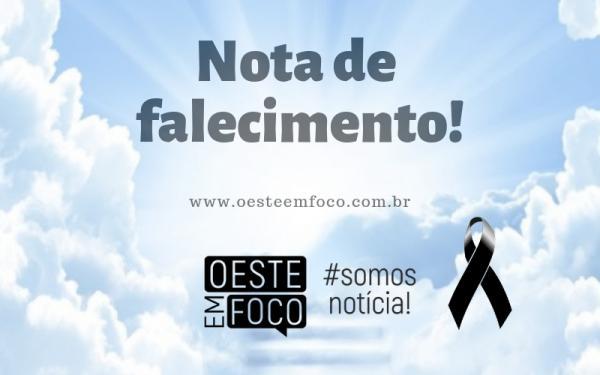 Nota de falecimento | Famílias Zanatta e Agostini | 21/09/2018