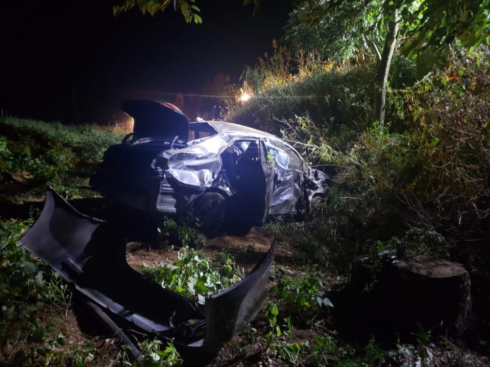 Colisão entre veículos deixa feridos na BR-163 em Guarujá do Sul