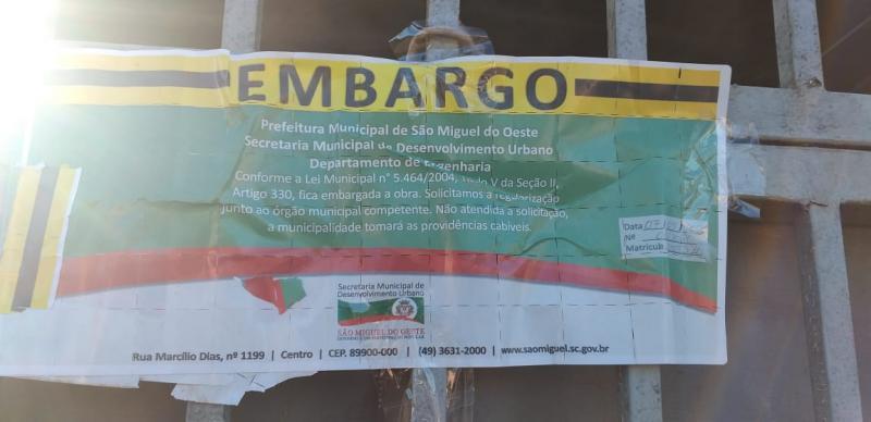 Vereador é acusado de ameaçar moradora e denunciar obra em São Miguel do Oeste