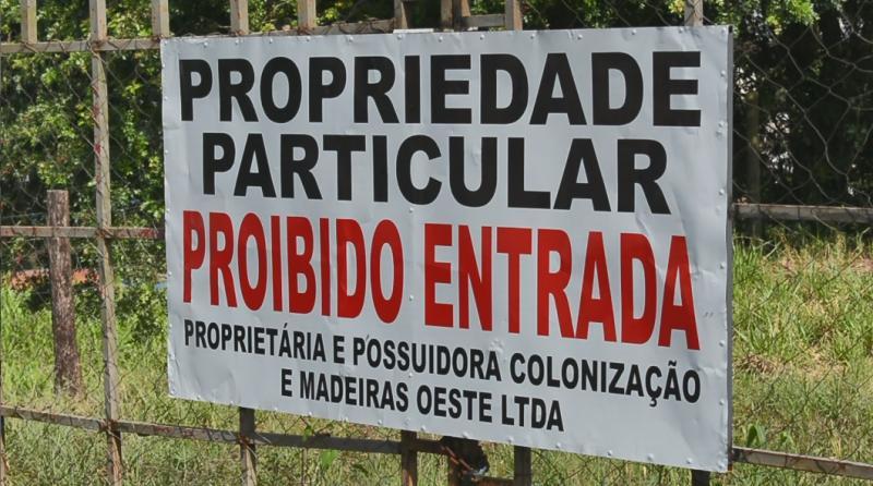 Decisão judicial determina que moradores desocupem área no Centro de São Miguel do Oeste